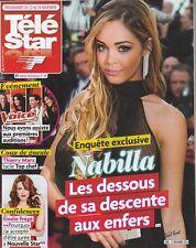 Télé Star N°1990 - 17/11/2014 - Nabilla - Elodie Frégé - Grace Kelly De Monaco