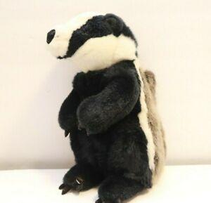 """Gund Plush Vintage Badger Stuffed Animal Toy 10"""""""