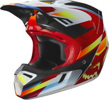 2019 Fox V3 Motif Motocross Helmet - Red, XL