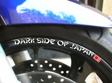 STICKER LISERET JANTE DARK SIDE OF JAPAN YAMAHA FAZER MT01 MT09 MT07 R1 R6 FZ8