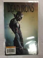 Dead Irons #1 Comic Book Dynamic Forces Exclusive Dynamite Signed James Kuhoric