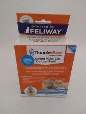 ThunderEase Calming Diffuser Refill Pheromones For Cat 2 Pack NEW