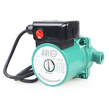 BACOENG 3/4'' Hot Water Circulator Pump for Central Heating System, EU/US Plug