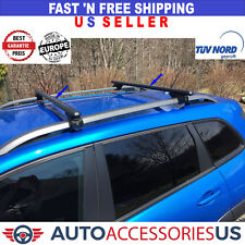 2015-2019 JEEP RENEGADE CAR TOP CROSS BAR CROSSBAR ALUMINUM ADJUSTABLE LOCKABLE
