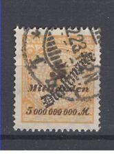 Deutsches Reich Dienstmarken.   Michel Nr. 85.  5 Milliarden gestempelt.