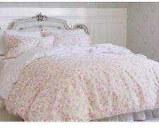 Simply Shabby Chic Dutchess Blossom King Duvet /2 King Shams Set Pink Rose New