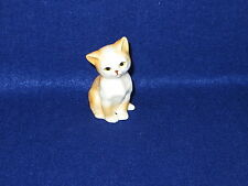"""Sitting Pretty"" Danbury Mint Cats Of Character Bone China Figurine - Mint"