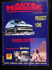 Auto Magazine n° 283 du 10/1991; Rencontre avec M. Pacome/ Peugeot 106