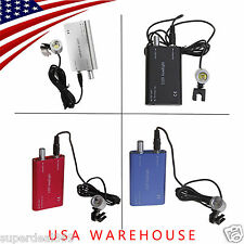 4PCS USA Portable LED Head Light Lamp for Dental 3.5X Binocular Loupes Glasses