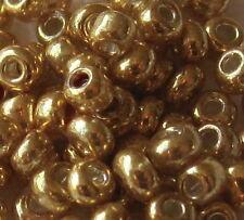 A 25g Bag of Metalic Gold - Size 11 - BOGOF