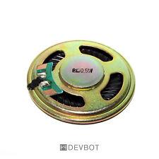 Haut parleur 8 ohm 0.5W Ø 40mm avec raccord à souder, Arduino, Pi, DIY