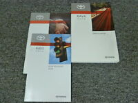 2010 Toyota Rav4 Compact SUV Owner Owner's Manual User Guide Sport Limited V6