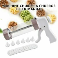 Machine Churrera Churros Filler Manual Spanish Donuts Filling Dessert Maker Kits