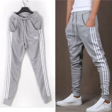 Mens Sport Pants Long Trousers Tracksuit Fitness Workout Joggers Gym Sweatpants