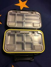 New Fly Box 4.50×3.00×1.00 inch Double sided, + 6 free fly free shipping $26 Val