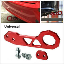 Car Racing Billet Aluminum Rear Tow Hook For Civic Crx Integra Rsx Red Universal