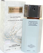 LAPIDUS 3.3/3.4 OZ EDT SPRAY FOR MEN NEW IN BOX BY TED LAPIDUS