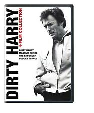 Dirty Harry 4 Film DVD Collection Clint Eastwood R4 Enforcer MagnumForce Sudden