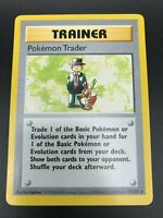 Pokemon Trader 77/102 RARE Base Set SHADOWLESS Trainer Pokemon 1999 WOTC NM
