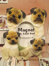PUG MAGNET PICTURE FRAME  #34A