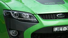Ford Falcon FG Sedan Ute DRL Like NEW LED Black Projector Headlights G6 XT FPV
