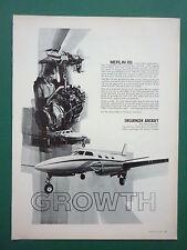 7/1969 PUB SWEARINGEN AIRCRAFT SAN ANTONIO TEXAS MERLIN IIB ORIGINAL AD