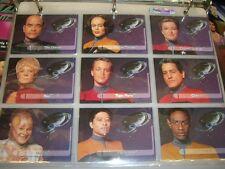 Star Trek Voyager Season 1 Series 2 - Walmart Exclusive Embossed Foil Set of 9