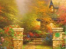 "Thomas Kinkade ""Rose Gate"" Two (2) Postcards *New*"