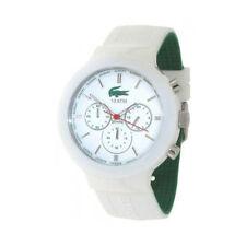Erwachsene Lacoste Armbanduhren mit Silikon -/Gummi-Armband für Herren