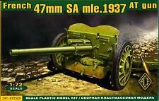 Ace Models 1/72 French World War II 47mm SA mle.1937 ANTI-TANK GUN