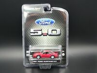 GREENLIGHT 1991 FORD MUSTANG 5.0 FOX BODY EXCLUSIVE 1:64 SCALE DIECAST CAR