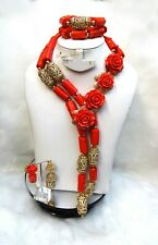 Celebrant 2019 Beautiful Traditional Wedding Flowery Traditional Coral Set