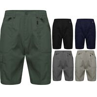 Men's Elasticated Multi-pocket Cotton Cargo Shorts | M-2XL
