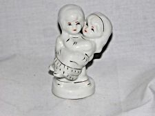 """Vintage Chinese Porcelain Figurine Hand painted Lovers Couple Made in China 4 ½"""""""