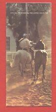 1978 TRAVERS PROGRAM, KENTUCKY DERBY & TRIPLE CROWN WINNER AFFIRMED VS. ALYDAR