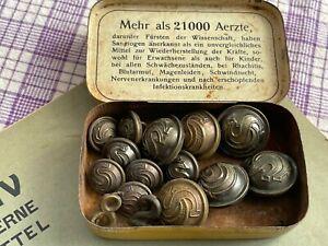 Militär oder Polizei Uniform Knöpfe BERLIN Top Rarität a.Tölzer Speicherräumung