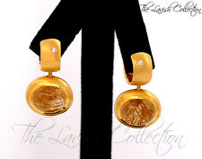 18K Yellow Gold Designer Earrings with Rutilated Quartz By H Stern