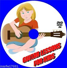 CHILDRENS GUITAR LESSONS FOR PRE-TEENS FOLLOW& PLAY ALONG LEARNING VIDEO DVD NEW