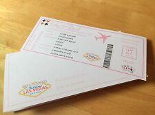 Carta d'imbarco GIFT CARD CARTA Las Vegas cartolina Di Compleanno Regalo