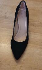 Clarks Ladies Smart Court Shoes DINAH KEER Black Interest UK SIZE 5.5 D EU 39