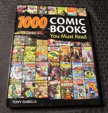 2009 1000 COMIC BOOKS You Must Read HC SIGNED by Tony Isabella VF/NM