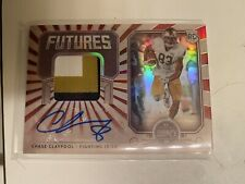 2020 Panini Legacy Chase Claypool RC Futures Patch Auto /100 Pittsburgh Steelers