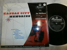 JAY McSHANN & HIS ORCHESTRA / KANSA CITY MEMORIES / RARE 10 INCH LP    EX