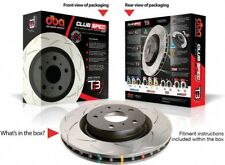 DBA Slotted Disc Brake Rotor for Toyota Prado GD GR KD TR J150R J155R FJ Cruiser