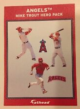 "MIKE TROUT Angels MVP Ad Panel 4"" x 6"" FATHEAD MLB Wall Graphics Vinyl Decal"
