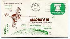 1974 Mariner 10 Second Mercury Ecounter Pasadena Cape Canaveral NASA JPL SAT