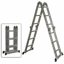 Aluminum Ladder Folding Step Heavy Duty Multi Purpose  Ladder Extendable