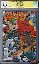 SECRET WARS (2015) # 4 Mile High Comics Variant Cover CGC 9.8 SS