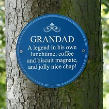 Personalised Heritage Wall Plaque - Birthday Father's Day Gift New Home Present