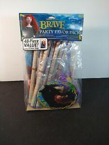 Disneys Pixar Brave Party Favor Pack Hallmark 48 Pieces New